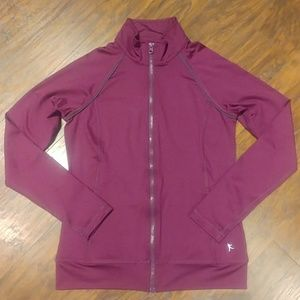 EUC Danskin Now Purple Dri-more Fitted Jacket XS